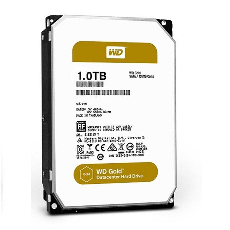 Жесткий диск WD Original SATA-III 1Tb WD1005FBYZ Gold (7200rpm) 128Mb 3.5