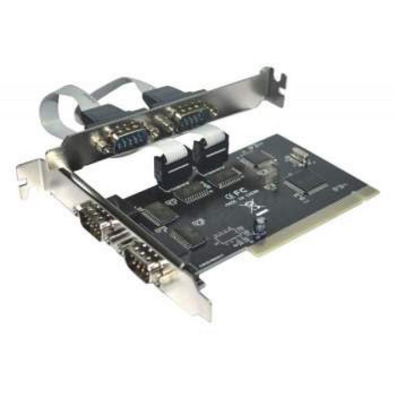 Контроллер PCI WCH355 4xCOM Bulk
