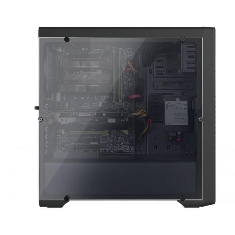 Корпус Zalman N3 черный без БП ATX 3x120mm 2xUSB2.0 1xUSB3.0 audio bott PSU