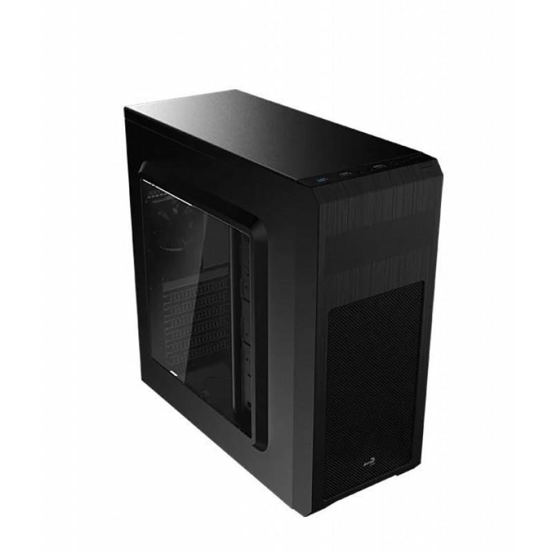 Корпус Aerocool SI-5101 Advance черный без БП ATX 1x92mm 2xUSB2.0 1xUSB3.0 audio