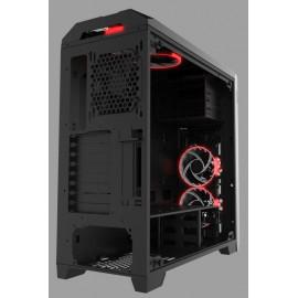Корпус Formula V-LINE 6000-RGB черный без БП ATX 2x120mm 2xUSB2.0 2xUSB3.0 audio front door bott PSU