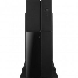 Корпус Aerocool Playa Slim черный без БП mATX 1x80mm 2xUSB3.0 audio bott PSU