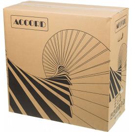 Корпус Accord JP-X черный без БП ATX 2xUSB2.0 1xUSB3.0 audio bott PSU