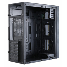 Корпус Accord ACC-CT291 черный без БП ATX 1x92mm 3x120mm 2xUSB2.0 1xUSB3.0 audio