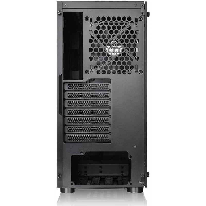 Корпус Thermaltake H100 TG черный без БП ATX 1x120mm 2xUSB3.0 audio bott PSU