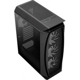 Корпус Aerocool Aero One Frost-G-BK-v1 черный без БП ATX 2x120mm 2x140mm 2xUSB3.0 audio bott PSU