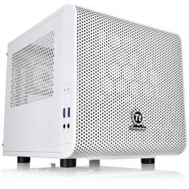 Корпус Thermaltake Core V1 Snow белый без БП miniITX 1x200mm 2xUSB3.0 audio bott PSU