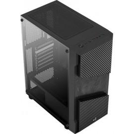 Корпус Aerocool Menace Saturn FRGB-G-BK-v1 черный без БП ATX 7x120mm 2x140mm 2xUSB3.0 audio bott PSU