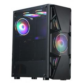 Корпус Formula CL-3303B RGB черный без БП ATX 6x120mm 2xUSB2.0 1xUSB3.0 audio bott PSU