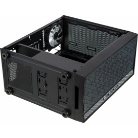 Корпус Formula V-LINE 2056B черный без БП ATX 2xUSB2.0 1xUSB3.0 audio bott PSU
