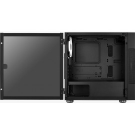 Корпус Aerocool Atomic-G-BK-v1 черный без БП mATX 2x120mm 2x140mm 2xUSB3.0 audio bott PSU