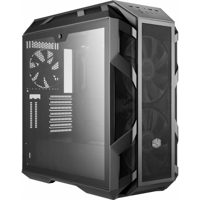 Корпус Cooler Master MasterCase H500M темно-серый без БП ATX 7x120mm 5x140mm 2x200mm 4xUSB3.0 audio bott PSU
