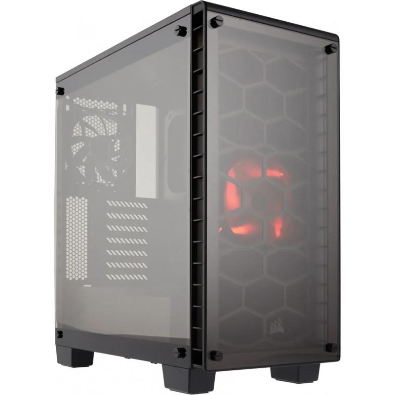 Корпус Corsair Crystal 460X черный без БП ATX 5x120mm 3x140mm 2xUSB3.0 audio bott PSU