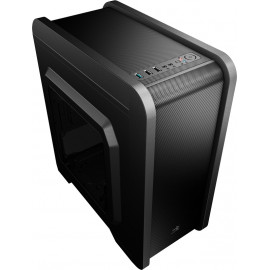 Корпус Aerocool Qs-240 черный без БП mATX 4x120mm 2xUSB2.0 1xUSB3.0 audio bott PSU