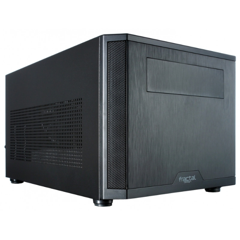 Корпус Fractal Design Core 500 черный без БП miniITX 2x120mm 2x140mm 2xUSB3.0 audio bott PSU