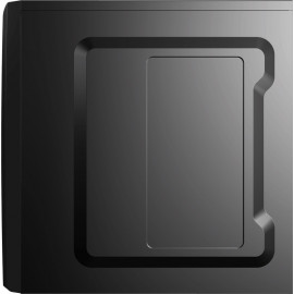 Корпус Aerocool CS-1101 черный без БП ATX 2x120mm 1x140mm 2xUSB2.0 1xUSB3.0 audio