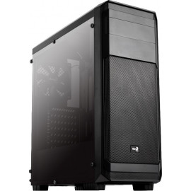 Корпус Aerocool AERO-300 FAW черный без БП ATX 4x120mm 2xUSB2.0 1xUSB3.0 audio bott PSU
