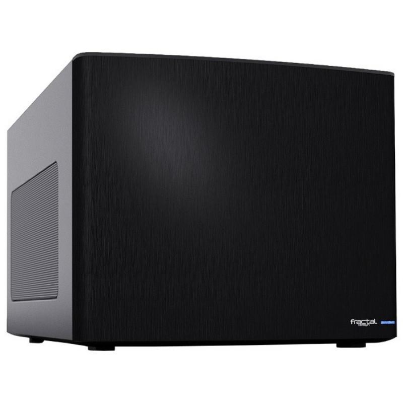 Корпус Fractal Design Node 304 черный без БП miniITX 2x92mm 1x140mm 2xUSB3.0 audio bott PSU