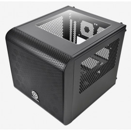 Корпус Thermaltake Core V1 черный без БП miniITX 1x200mm 2xUSB3.0 audio bott PSU