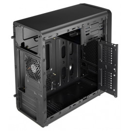 Корпус Aerocool Qs-180 черный без БП mATX 1x80mm 2xUSB2.0 1xUSB3.0 audio