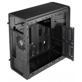 Корпус Aerocool Qs-182 черный без БП mATX 2x120mm 2xUSB2.0 1xUSB3.0 audio