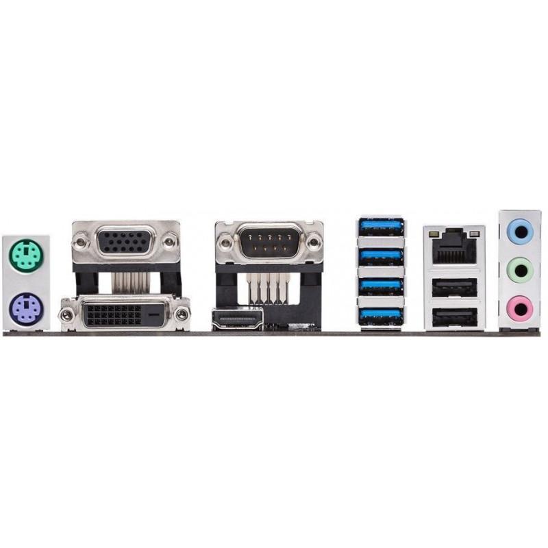 Материнская плата Asus PRIME A320M-C R2.0 Soc-AM4 AMD A320 2xDDR4 mATX AC`97 8ch(7.1) GbLAN RAID+VGA+DVI+HDMI
