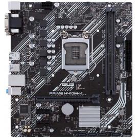 Материнская плата Asus PRIME H410M-K Soc-1200 Intel H410 2xDDR4 mATX AC`97 8ch(7.1) GbLAN+VGA+DVI