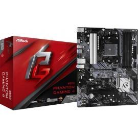 Материнская плата Asrock B550 PHANTOM GAMING 4 Soc-AM4 AMD B550 4xDDR4 ATX AC`97 8ch(7.1) GbLAN RAID+HDMI