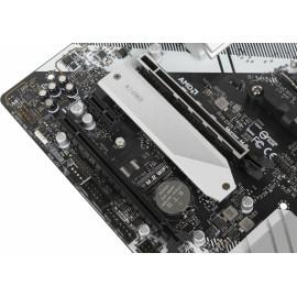 Материнская плата Asrock B550M PRO4 Soc-AM4 AMD B550 4xDDR4 mATX AC`97 8ch(7.1) GbLAN RAID+VGA+HDMI+DP