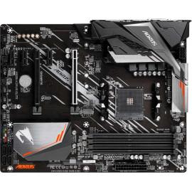 Материнская плата Gigabyte A520 AORUS ELITE Soc-AM4 AMD A520 4xDDR4 ATX AC`97 8ch(7.1) GbLAN RAID+DVI+HDMI
