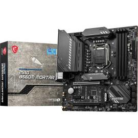 Материнская плата MSI MAG B560M MORTAR Soc-1200 Intel B560 4xDDR4 mATX AC`97 8ch(7.1) 2.5Gg+HDMI+DP