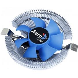 Устройство охлаждения(кулер) Aerocool Verkho I Soc-1200/1150/1151/1155 4-pin 12-30dB Al 90W 190gr Ret