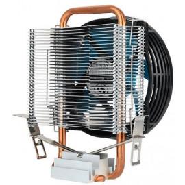 Устройство охлаждения(кулер) Aerocool Verkho 1-3P Soc-FM2+/AM2+/AM3+/AM4/1150/1151/1155 3-pin 28dB Al+Cu 100W 280gr Ret