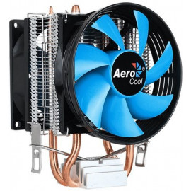 Устройство охлаждения(кулер) Aerocool Verkho 2 Dual Soc-AM4/AM3+/1150/1151/1200/2011 4-pin 15-25dB Al+Cu 120W 370gr Ret