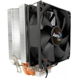 Устройство охлаждения(кулер) Aerocool Verkho 3 Soc-FM2+/AM2+/AM3+/AM4/1150/1151/1155 4-pin 15-24dB Al+Cu 120W 530gr Ret