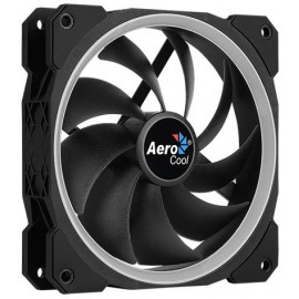 Вентилятор Aerocool Orbit 120x120mm 3-pin 14dB 153gr LED Ret