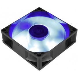 Вентилятор Aerocool Motion 8 Blue-3P 80x80mm 3-pin 25dB 90gr LED Ret