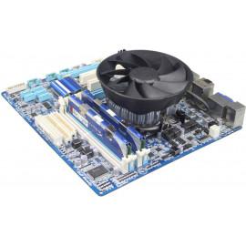 Устройство охлаждения(кулер) Deepcool GAMMA HUNTER Soc-AM4/AM3+/1150/1151/1200 3-pin 21dB Al 95W 252gr Ret