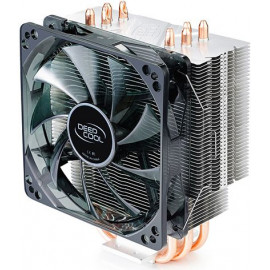 Устройство охлаждения(кулер) Deepcool GAMMAXX 400 BLUE BASIC Soc-AM4/AM3+/1150/1151/1200 4-pin 18-30dB Al+Cu 130W 640gr LED Ret