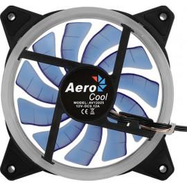 Вентилятор Aerocool Rev Blue 120x120mm 3-pin 15dB 153gr LED Ret