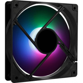 Вентилятор Aerocool Frost 12 PWM 120x120mm 4-pin 18-28dB 160gr LED Ret