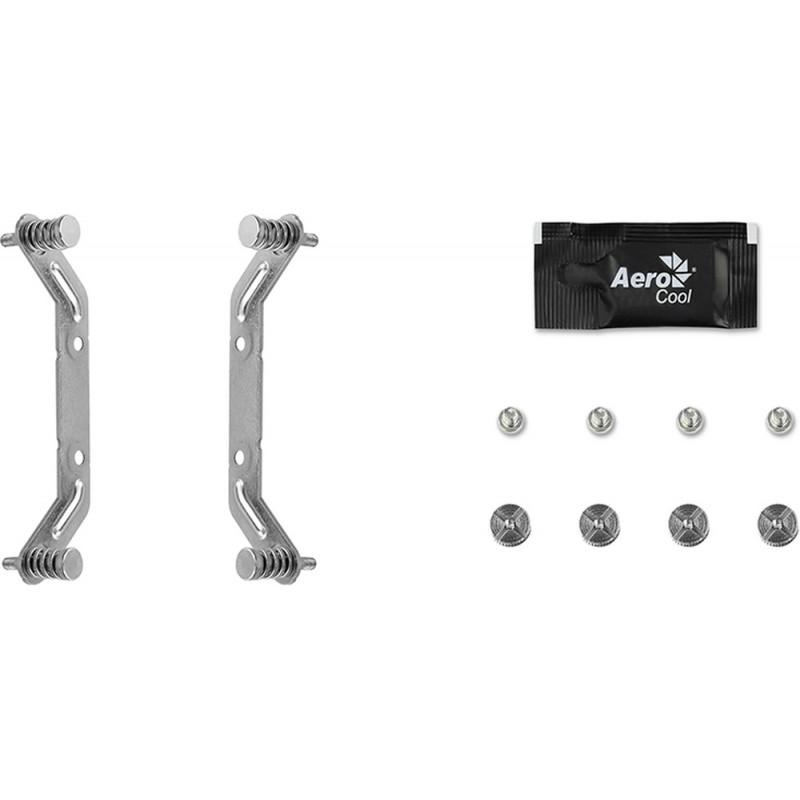 Устройство охлаждения(кулер) Aerocool Cylon 3 Soc-AM2+/AM3+/AM4/1150/1151/1155 4-pin 13-24dB Al+Cu 125W 480gr LED Ret