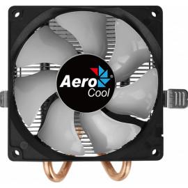 Устройство охлаждения(кулер) Aerocool Air Frost 2 Soc-AM4/AM3+/1150/1151/1200 3-pin 26dB Al+Cu 110W 250gr LED Ret