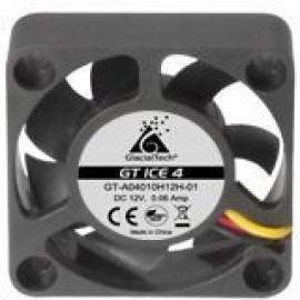 Вентилятор Glacialtech GT ICE 4 40x40x10mm 3-pin 4-pin (Molex)23dB 20gr Ret