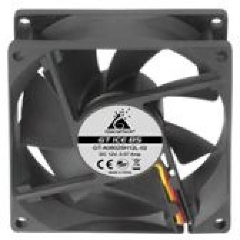 Вентилятор Glacialtech GT ICE 8S 80x80x25mm 3-pin 4-pin (Molex)20dB 67gr Ret
