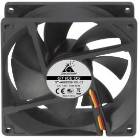 Вентилятор Glacialtech GT ICE 9S Silent 90x90x25mm 3-pin 4-pin (Molex)20dB 86gr Ret