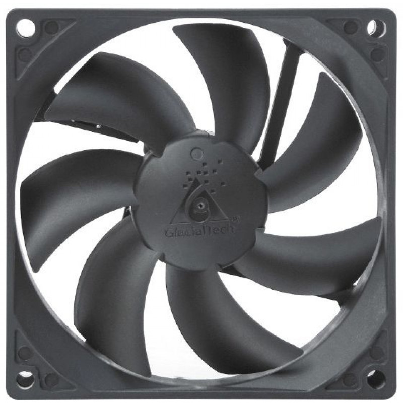 Вентилятор Glacialtech GT ICE 9B 90x90x25mm 3-pin 4-pin (Molex)22dB 86gr Ret