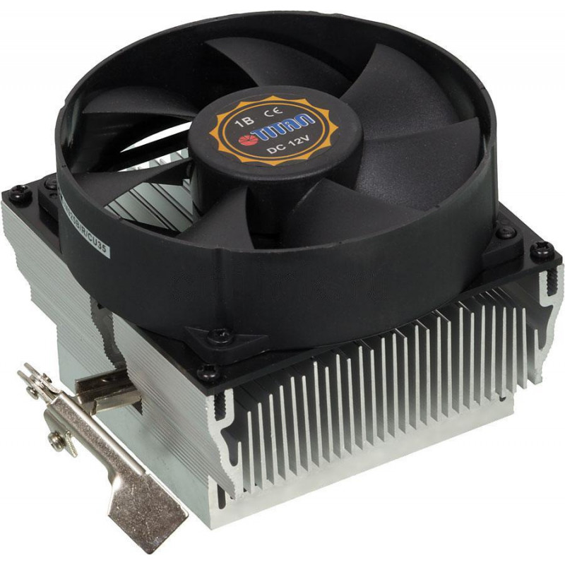 Устройство охлаждения(кулер) Titan DC-K8M925B/R/CU35 Soc-AM4/AM3+/AM2+/FM2+ 3-pin 27dB Al+Cu 110W 428gr Ret