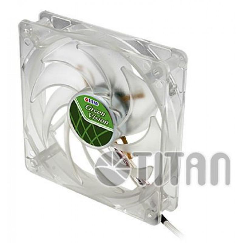 Вентилятор Titan TFD-12025GT12Z 120x120x25mm 3-pin 4-pin (Molex)16dB Ret