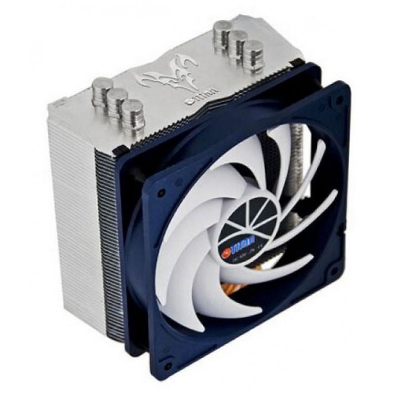 Устройство охлаждения(кулер) Titan Hati TTC-NC15TZ/KU(RB) Soc-AM4/AM3+/1150/1151/1200/2011 4-pin 15-35dB Al+Cu 160W 600gr Ret